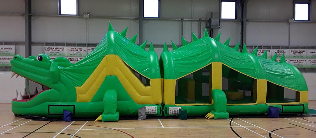 The croc bouncy castle Kerry Bouncy Castles