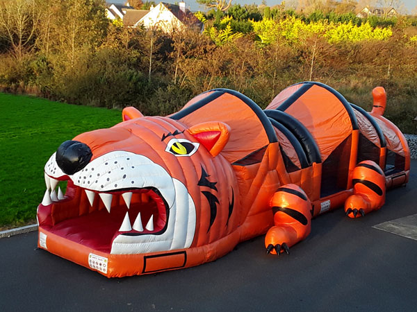 The Tiger Kerry Bouncy Castles
